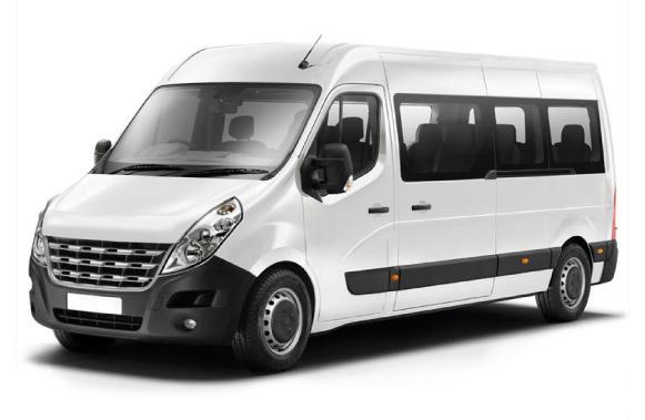 Microbus para 12 pasajeros