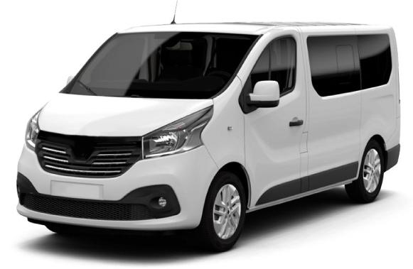 Microbus para 6 pasajeros